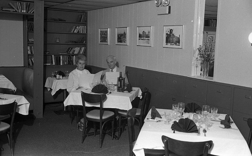 Archives dinning room, circa 1985. Courtesy of the Historical Society of Dauphin County.