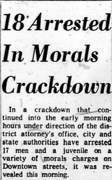 Harrisburg Patriot News headline July 3, 1965. Courtesy of Dauphin County Historical Society